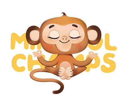 Mindful Champs. Brand illustration