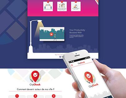 CityCheck mobile app