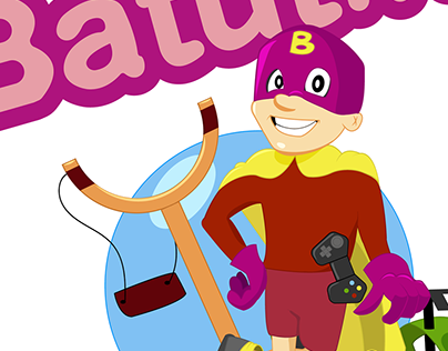 Batutik character design for children