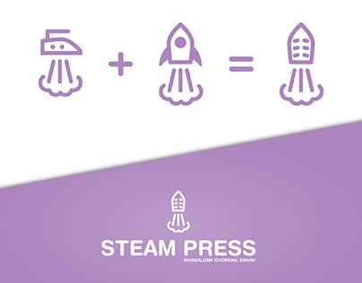 Steam press branding