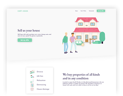 Cash Casas Web Design