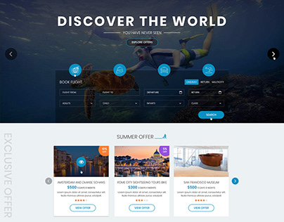 Travel Booking Project Design