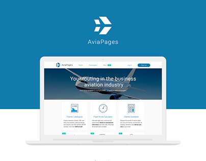 AviaPages - Redesign