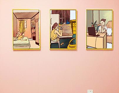 Digital Art: Quarantine Art Contest