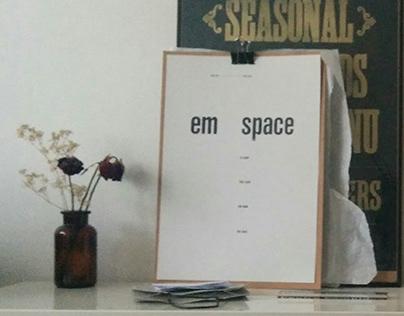 em–space