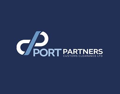 Port Parnters Logo Design