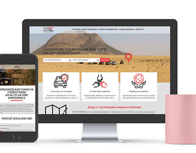 Off-The-Road - Layout Sito Web Responsive