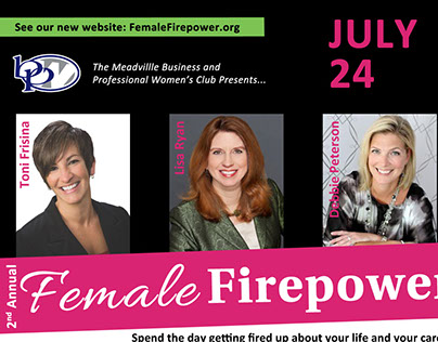Female Firepower 2015 Logo and Graphics