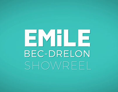 Motion Reel 2015 - Emile Bec Drelon