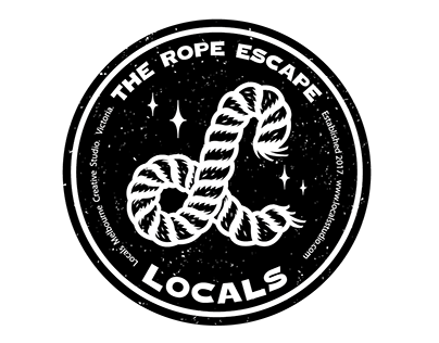 Locals Badge & Lettering