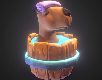 Capybara Chill