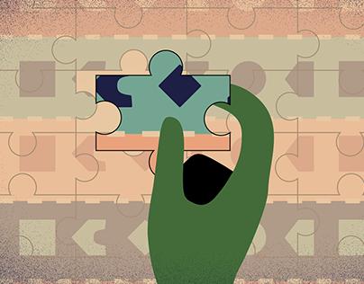 Jigsaw Puzzles Animation