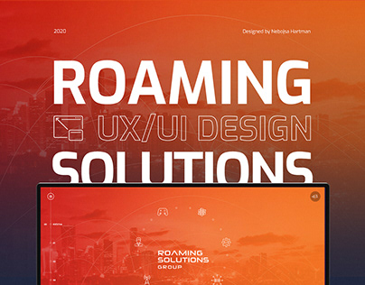 Roaming Solutions Group - Ui/Ux Design