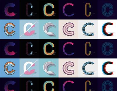Calligraphy / C