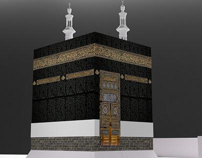 Kaaba 3D Modeling