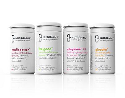 Nutramins™ live well grow better