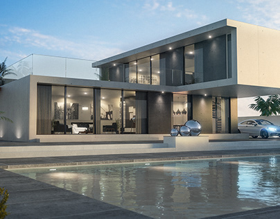 Architectural Visualization with V-Ray for Cinema 4D