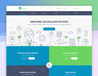 Home Page for Australian Hosting