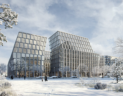 Pictury + Zaha Hadid Architects | Munich Offices