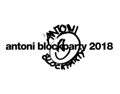 antoni blockparty 2018