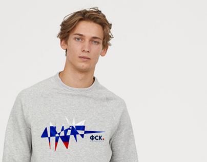 Branding. Federation of sports kicker of Russia
