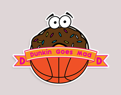Dunkin Donuts / March Madness Crossover Campaign