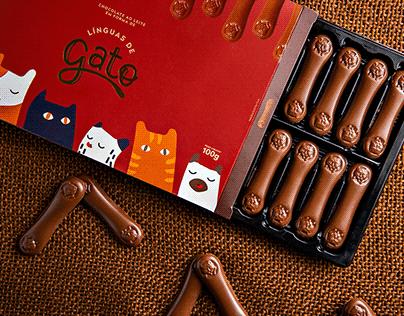 Projeto de Embalagem: Línguas de Gato