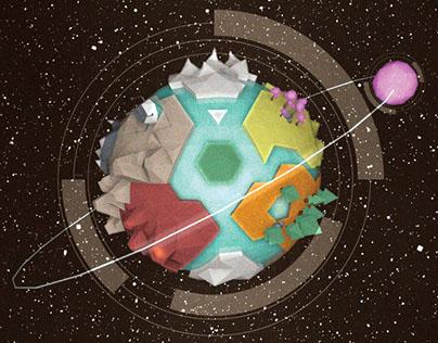 Unidentified Alien Planet - Infographic