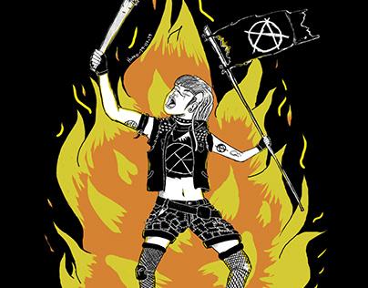 Warrior punk