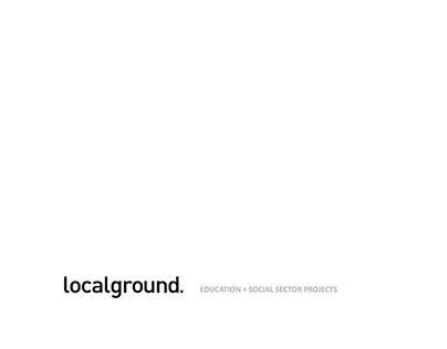 localground | EDUCATION + SOCIAL SECTOR