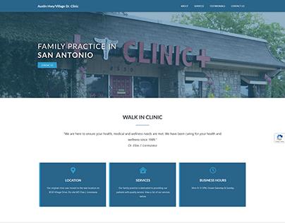 Family Practice Website Re-Design