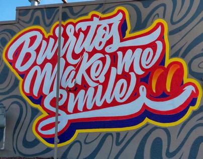Kiko's Burritos Mural Newton, Kansas