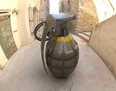 MK2-Grenade 3d model