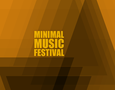 Minimal music festival