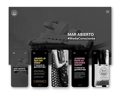 Mar Abierto   Web Design