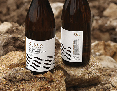 Zelna Winery Identity