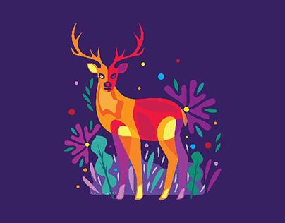 Antlers Deer
