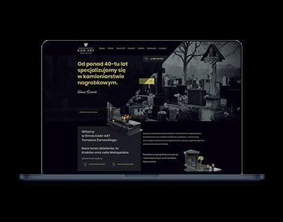 Kamart Zakład kamieeniarski / webdesign