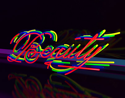 Collection 3D lettering