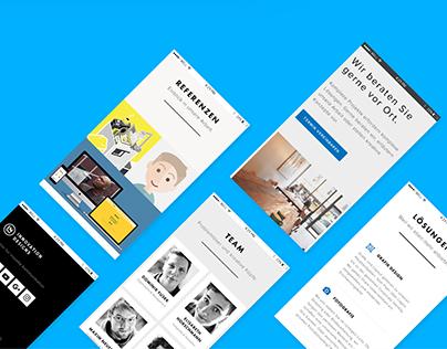 Webdesign: Innovation Designs