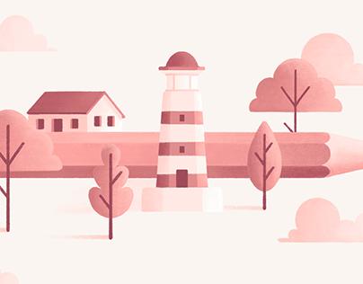 Pencilscape – Illustrazione (2021)