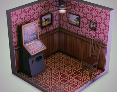 Isometric Pub Interiors