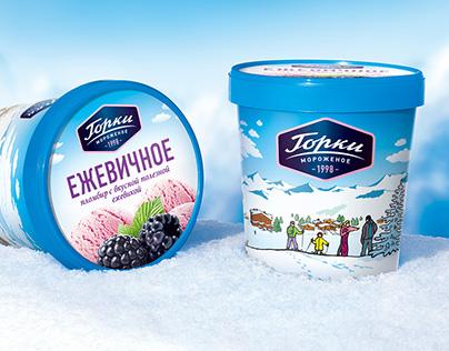 Gorki. Ice cream