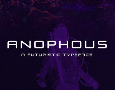 Anophous - A Futuristic Typeface