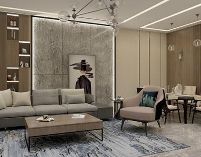 Dining - living room desgin