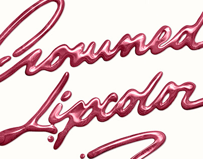 Crowned Lipcolor Lettering