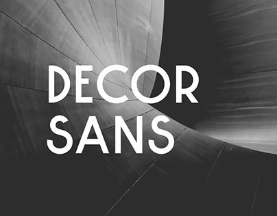 Decor Sans Font
