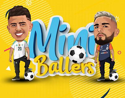 Mini Ballers - Illustrations