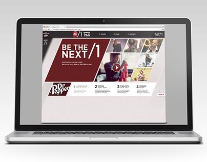 Dr. Pepper NEXT /1 Website