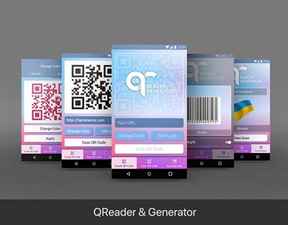 QReader & Generator Mobile App